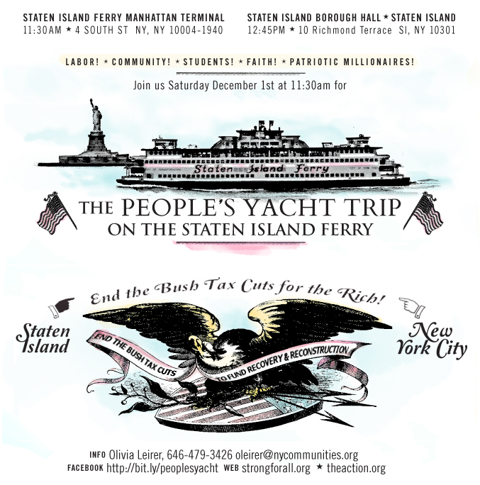 NYC: The People's Yacht Trip on the Staten Island Ferry