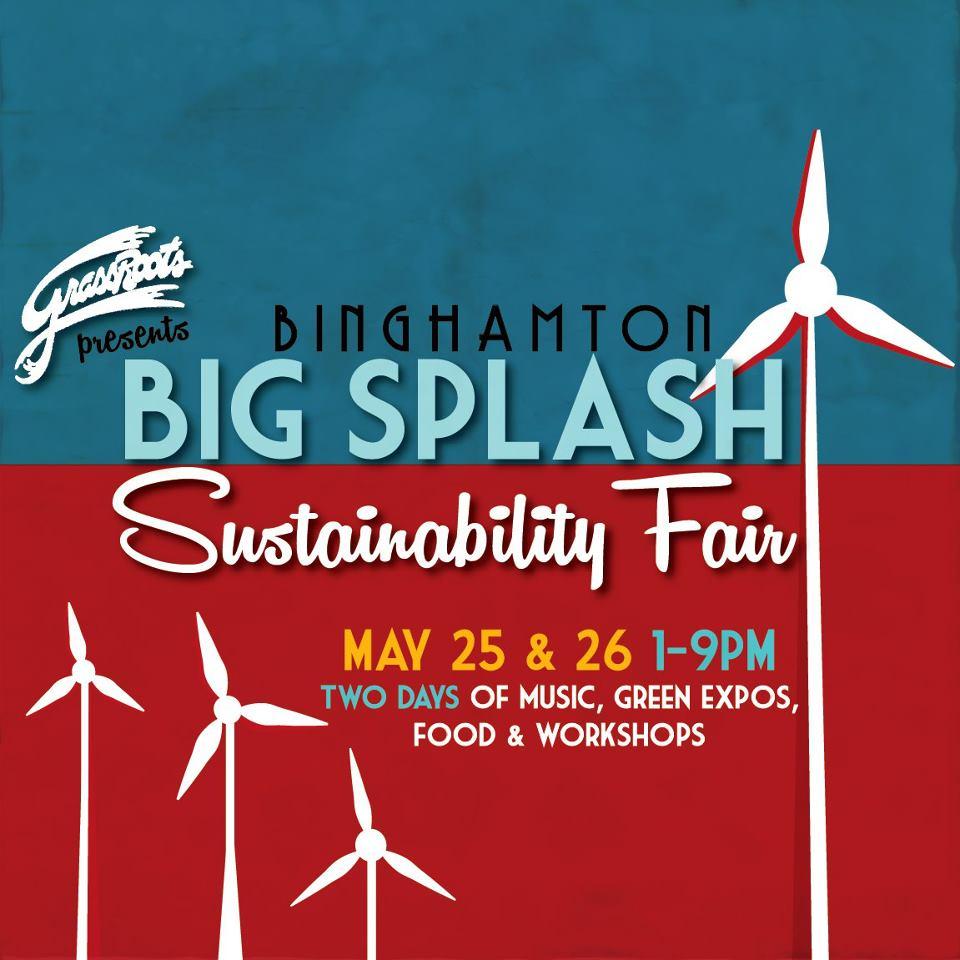 Binghamton: BIG SPLASH Sustainability Fair