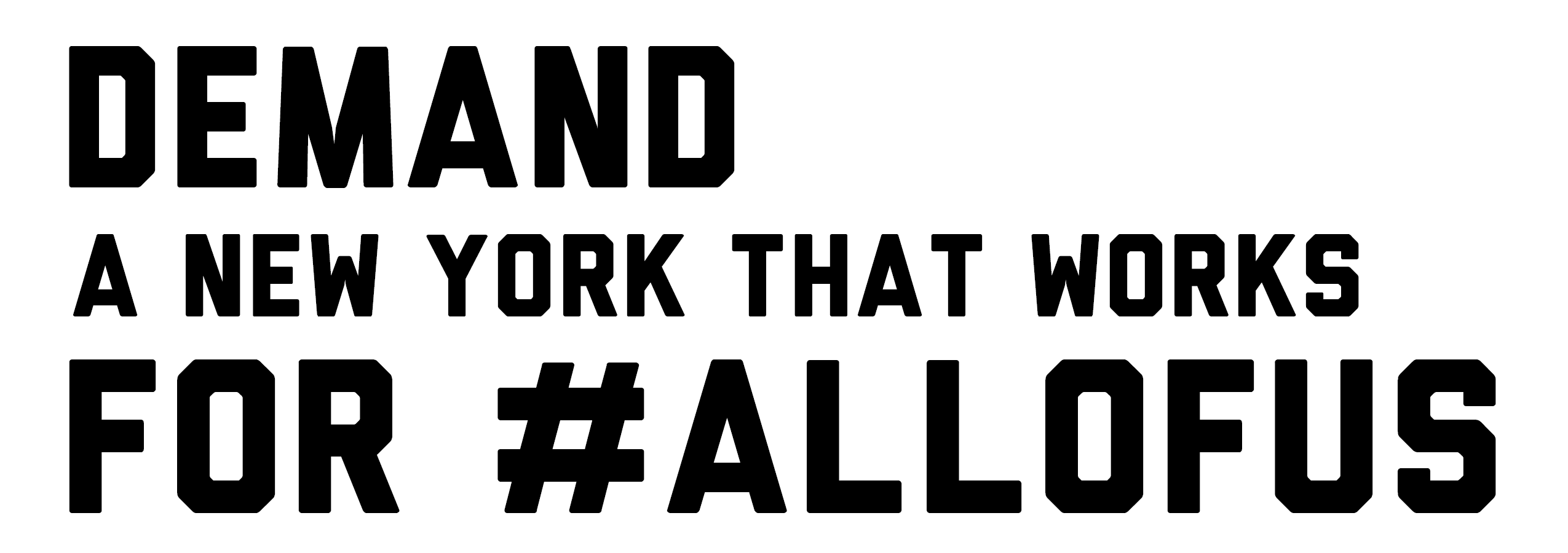 Albany Day of Action: Demand a NY that Works for #AllOfUs