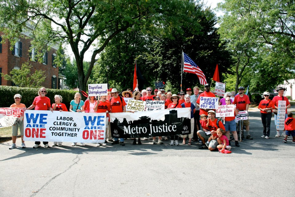 Metro Justice: Labor Day Parade – Fight for 15!