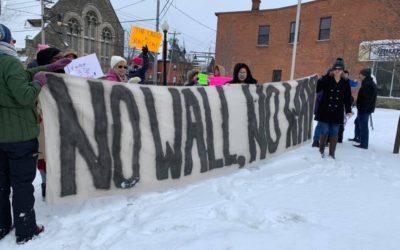 Activist Check In: No Wall, No Way