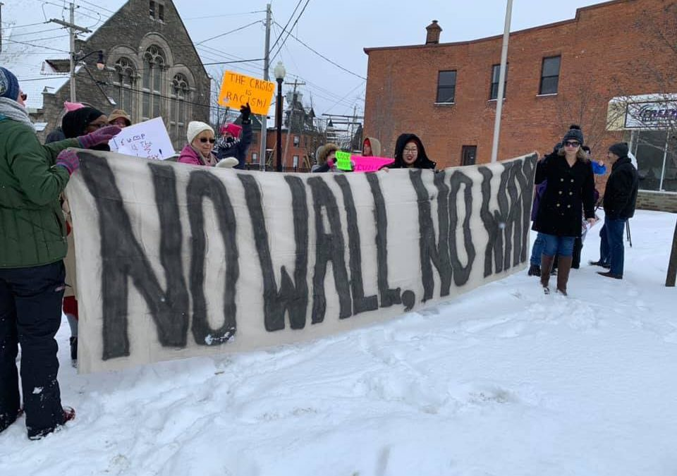 Activist Check In: No Wall, No Way